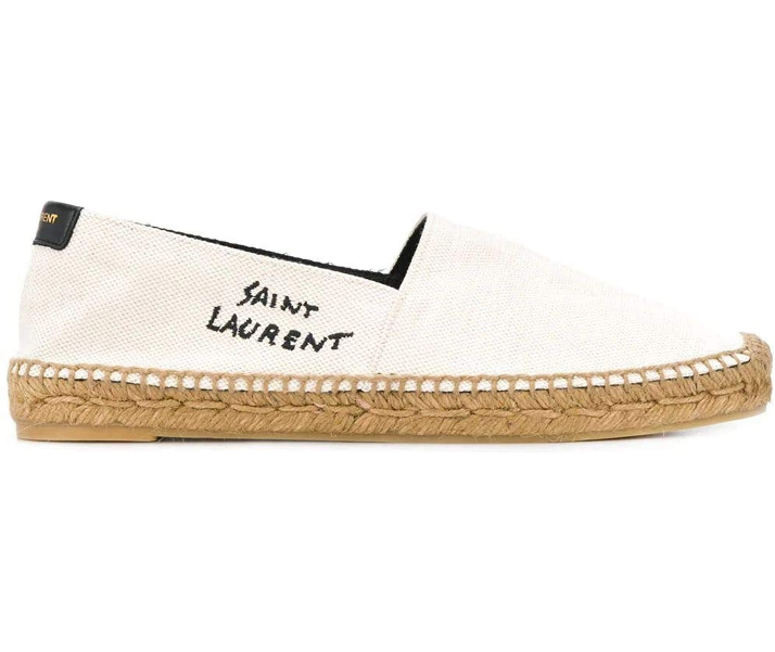 Saint-Laurent-Luxury-Fashion-Damen-6059561P2109380-Weiss-Espadrilles-SAINT-LAURENT